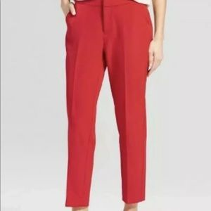 A new day Crepe Ankle Trousers dress pants